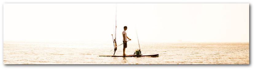 BOTE Fishing Paddle Board