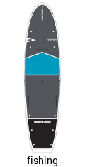 BIC Fish 12.0 - fishing sup