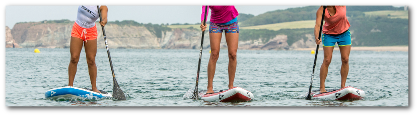 Quality inflatable paddle board is light weight, easy to carry and is very stable.