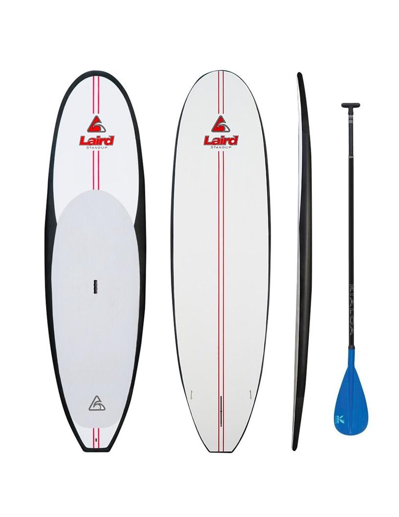Larid ST paddle board with Kialoa paddle