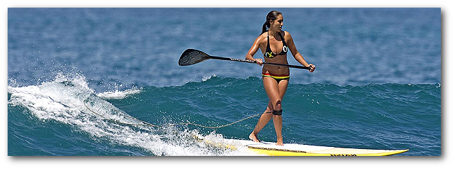 We carry all stand up paddleboard gear neccessary for your next sup adventure.