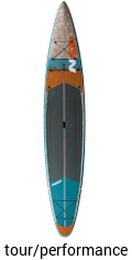 NSP touring performance coco mat 12.6 - touring stand up paddle board