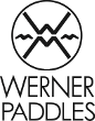 Werner paddle board paddle